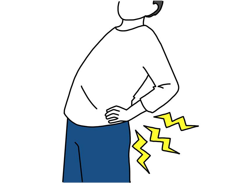 の 腰 法 痛い とき が 対処